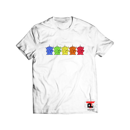Toy Story Chromatic Aliens T Shirt