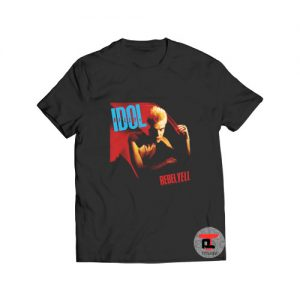 Billy Idol 86 rebel yell vintage T Shirt