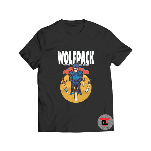 Wolfpack fighting to end cancer T Shirt