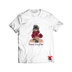 Como La Flor Selena Cartoon T Shirt