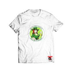 Do Ya Feel Lucky Shamrock T Shirt