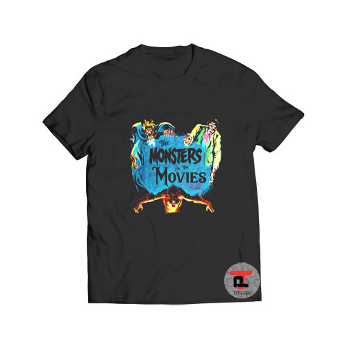 Vintage Horror Monsters of the Movies T Shirt