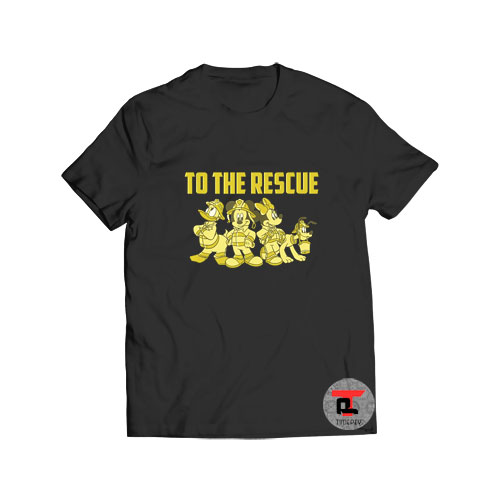 Mickey And Friends Firefighters To The Rescue T Shirt