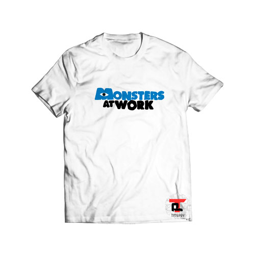 Monsters At Work Logo T Shirt