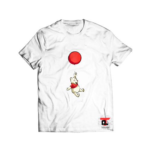 Winnie The Pooh Floating T Shirt
