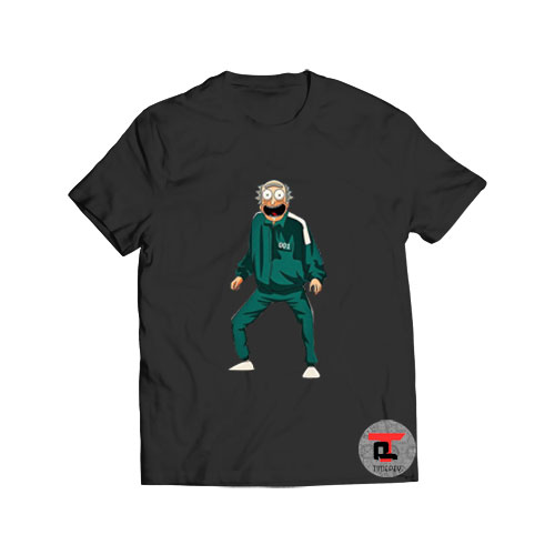 Rick and Morty Squid Game Viral Fashion T Shirt