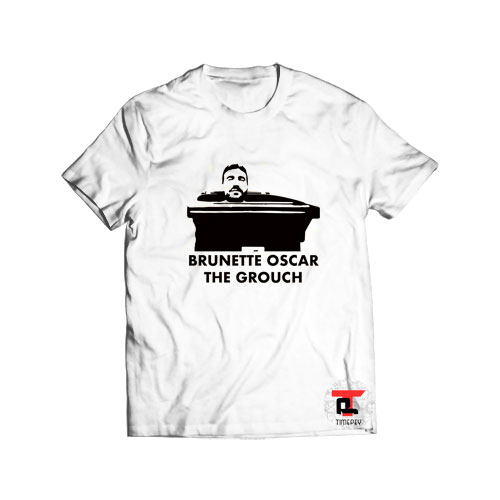 Roy Kent Ted Lasso Brunette Oscar the Grouch Viral Fashion T Shirt